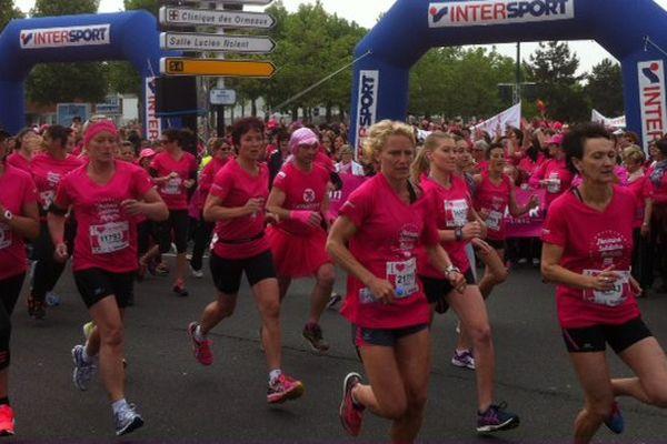 15000 participantes pour cette huitième édition de la course de l'amazone au Havre.