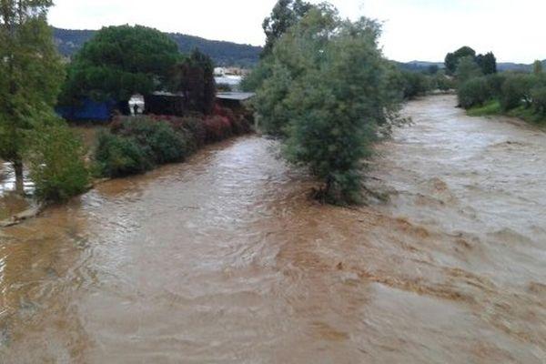 La rivière le Pansard est sortie de son lit