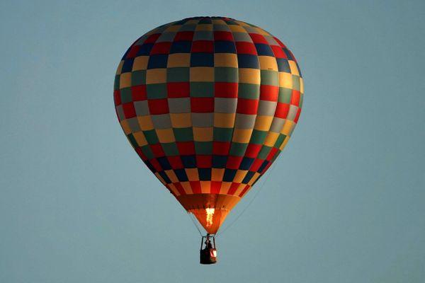 Image d'illustration : une montgolfière lors du Grand Est Mondial Air Ballons 2019