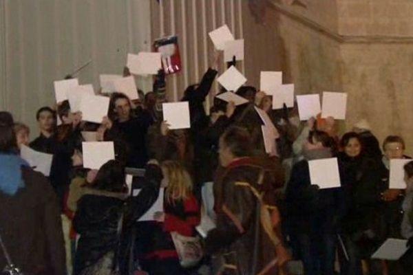 150 manifestants contre des expulsions de familles à Mende en Lozère