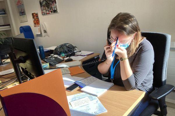 Laurie Picquart, agent au contact tracing de niveau 3, ARS Bretagne