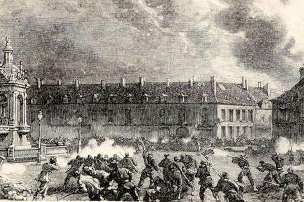 La Défense de Châteaudun, le 18 octobre 1870