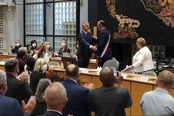 5 juillet 2020 – 10h30 : Edouard Philippe à nouveau maire du Havre
