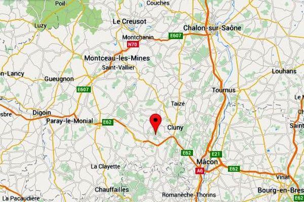 Un accident mortel s'est produit dans la commune de Bergesserin, en Saône-et-Loire, samedi 27 juin 2015.