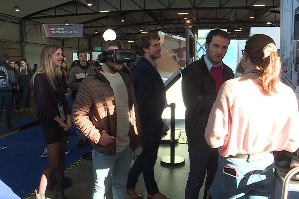 Le salon de l'orientation et des métiers au parc des Expos de Rouen jusqu'au 8 février.