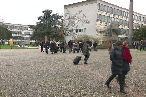 Le campus de Villejean à Rennes.