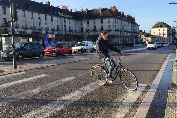 L'utilisation du vélo est maximale chez les 15-24 ans