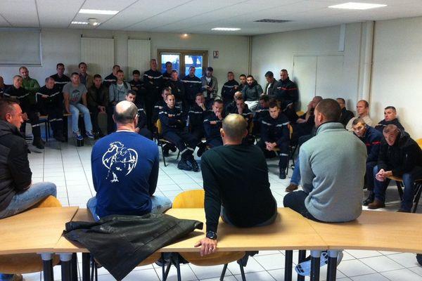 Les sapeurs-pompiers du Calvados étaient réunis en assemblée générale ce mardi 4 novembre