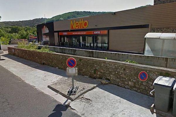 Lodève (Hérault) - le supermarché braqué par 3 malfaiteurs - archives