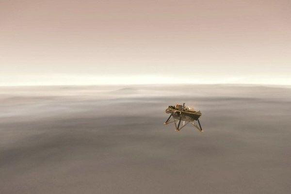 La sonde InSight de la Nasa a tenté une descente à haut risque sur Mars ce 26 novembre.