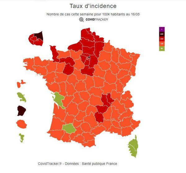 Haute-Corse et Corse-du-Sud voient désormais leur taux d'incidence repasser sous le seuil d'alerte.