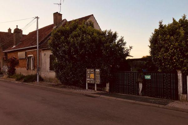 Le domicile où l'homme s'est enfermé quelques heures à Trugny (Côte d'Or) ce dimanche 30 mai