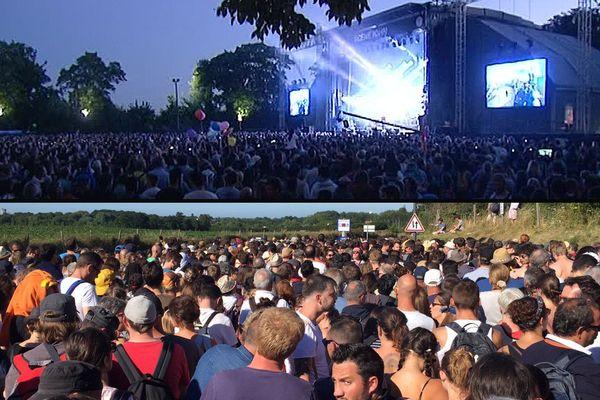 Près de 65 000 spectateurs sont venus cette année au festival Beauregard cette année.