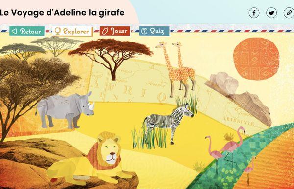 Adeline la Girafe