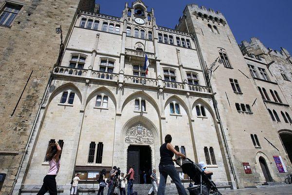 La mairie de Narbonne - mars 2020