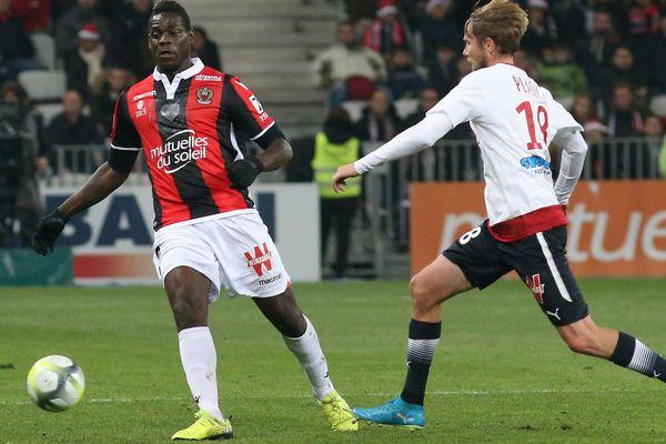 Super Mario a marqué à la 36è minutes contre les Girondins de Bordeaux ce dimanche à l'Allianz Riviera.