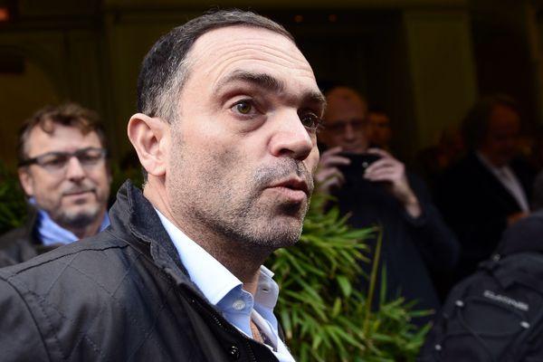Yann Moix en 2013, après avoir obtenu le prix Renaudot.