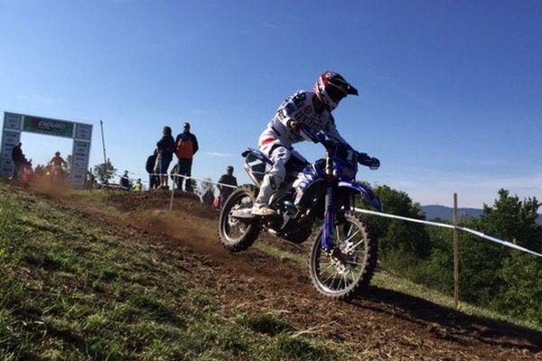 Marc Bourgeois Champion de France d'Enduro au Puy-en-Velay le 25 septembre 2016
