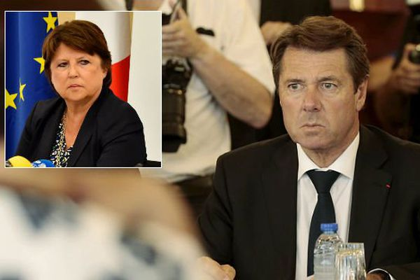 Christian Estrosi n'a pas apprécié les récentes déclarations de Martine Aubry à son sujet.