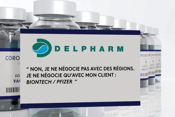 Le laboratoire Delpharm va fabriquer le vaccin Pfizer en France.