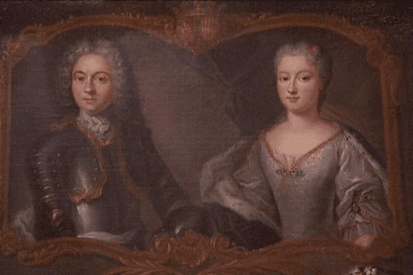 Le prince de Monaco et son épouse Louise-Hippolyte.