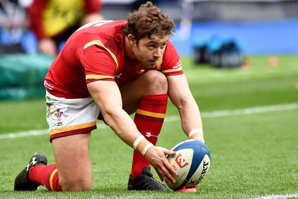"""""""Je suis heureux de revenir pour jouer au pays de Galles"""", a assuré l'international gallois."""