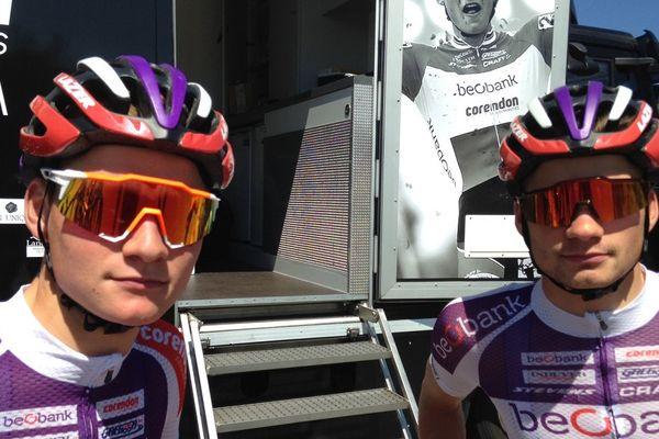 Mathieu et David Van Der Poel seront suivis de près par leur grand-père, Raymond Poulidor