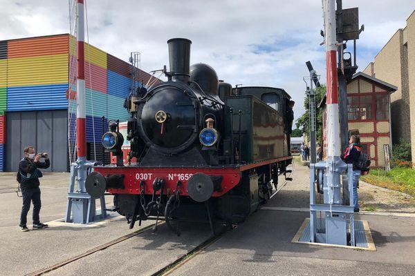 Cette locomotive de 1912 roule exceptionnellement à la Cité du train pour ses 50 ans, jusqu'au 18 juillet.