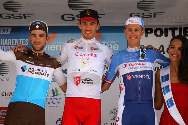 Classement général TPC 2019 : 1. Christophe Laporte (Cofidis) / 2. Tony Gallopin (AG2R La Mondiale) / 3. Niki Terpstra (Total Direct énergie).