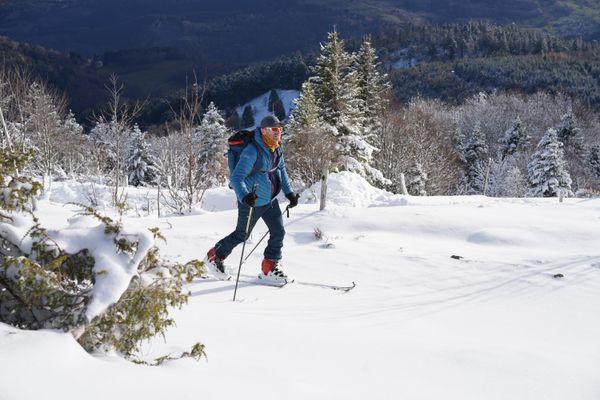 Randonnée à ski autour du Gashney