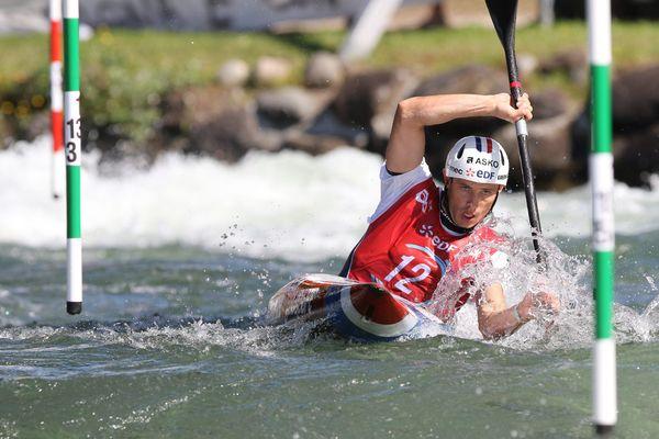 Championnat du monde ICF Kayak 2017 à Pau au stade des eaux vives