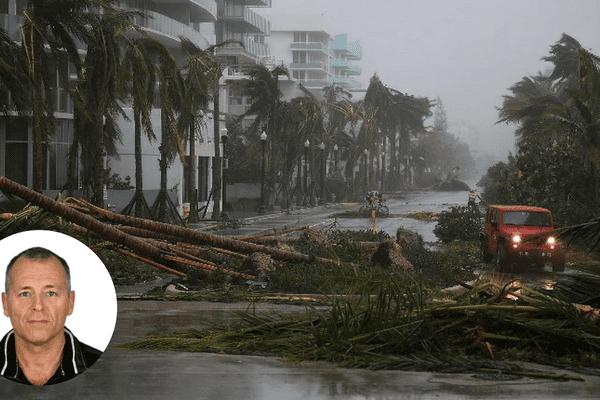 Marc Amblard est resté à Miami le week-end du passage de l'ouragan Irma. C'était «une ambiance apocalyptique,» nous raconte-t-il.