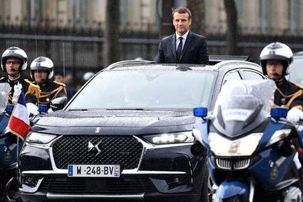 La DS7, nouvelle voiture présidentielle