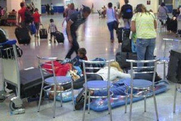 Le 14 août 2014, les passagers du vol Djerba Nantes, coincés pendant 36 heures à l'aéroport