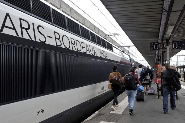 La LGV place Poitiers à 1h15 de Paris et à 1h05 de Bordeaux
