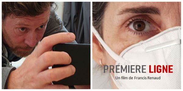 """Le projet d'affiche du film """"première ligne"""" réalisé par Francis Renaud"""