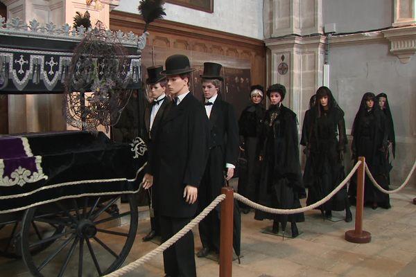 Un enterrement à Ornans comme à l'époque de Gustave Courbet