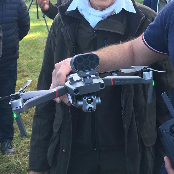Un drone ne prend que quelques minutes pour scanner l'intégralité d'une parcelle.