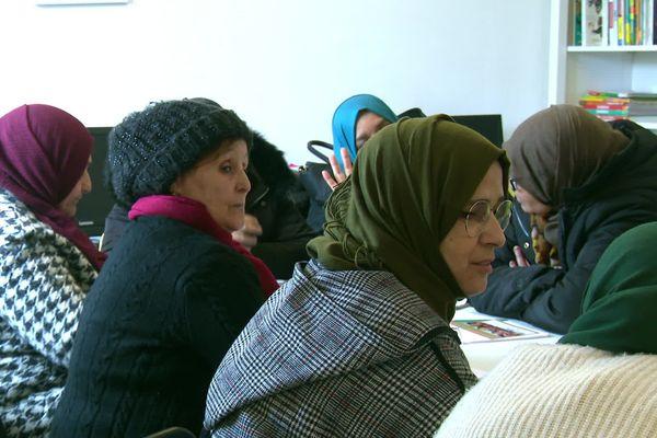 Dans l'association Jasmin d'Orient à Montpellier près de 45 nationalités sont représentées - mars 2020