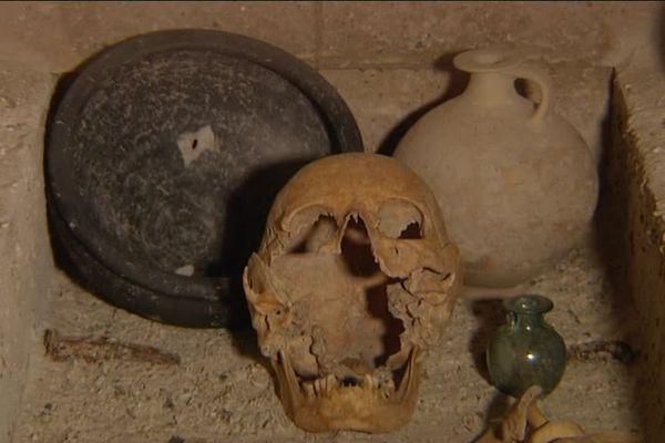 Exposition sur les fouilles archéologiques de la citadelle d'Amiens au Musée de Picardie