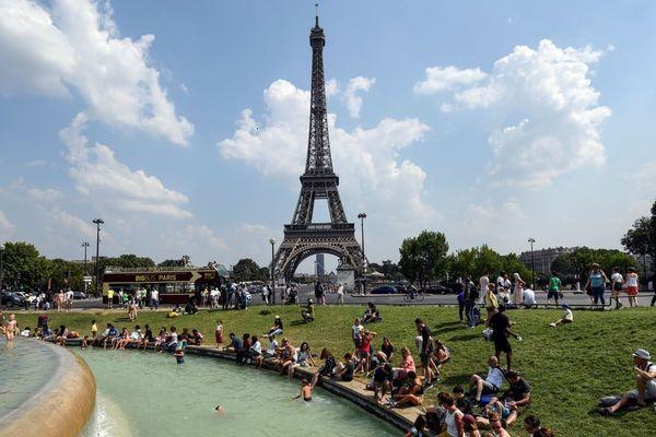 Pic de chaleur samedi en Île-de-France, après une semaine caniculaire (illustration).