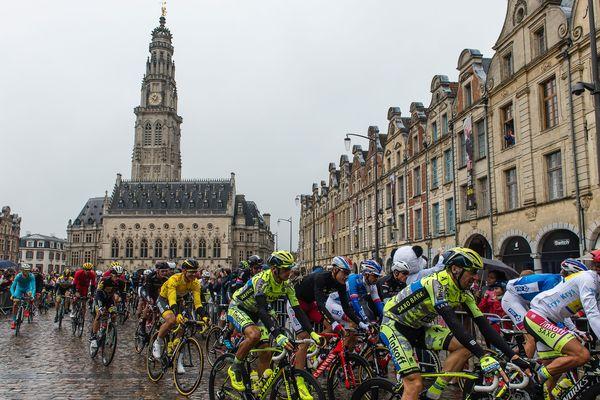 En 2015, les coureurs du Tour de France étaient déjà partis d'Arras.