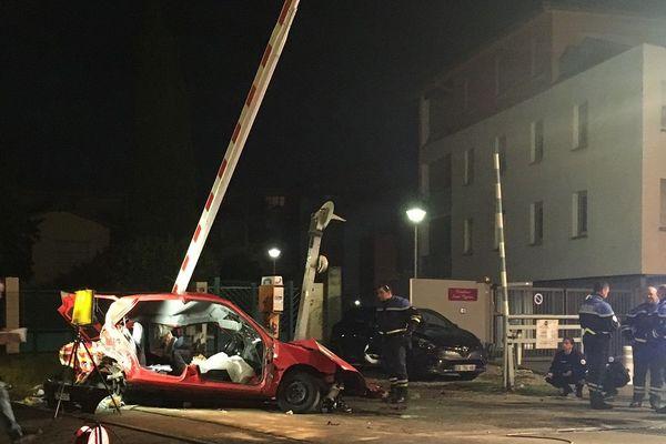 On ne connait pas encore les circonstances de l'accident qui s'est produit sur une passage à niveau.