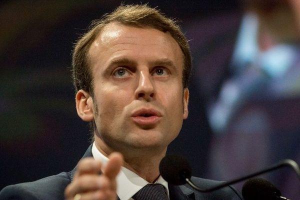 Emmanuel Macron, ministre de l'Economie, le 9 octobre à Lyon lors du Congrès de l'Ordre des experts comptables