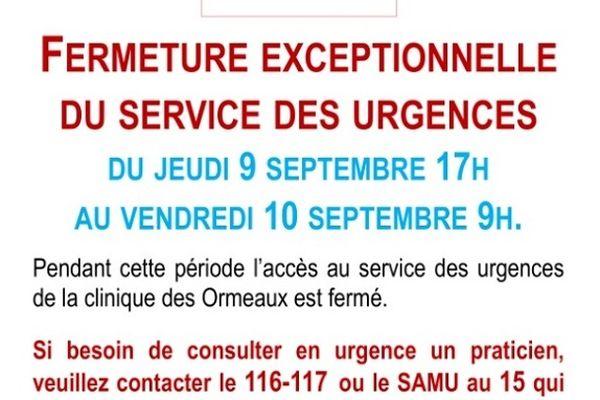 La clinique des Ormeaux située au Havre contrainte de fermer temporairement.