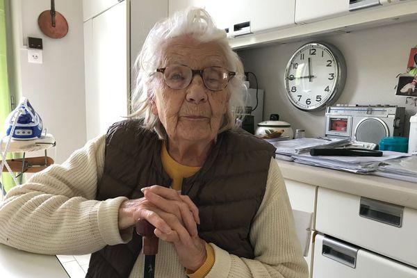Depuis le déconfinement, Colette Monnier a pu enfin revoir ses petits-enfants résidant en région parisienne.