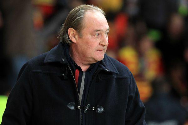 Gervais, ex et nouveau président du RC Lens (janvier 2012).