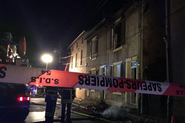 Un incendie s'est déclaré dans une maison à Joeuf ce dimanche 22 avril, l'occupant est introuvable