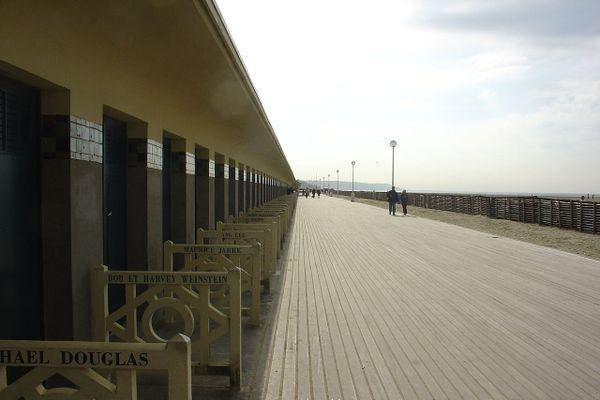 Les Planches de Deauville, un lieu chargé d'histoires et de stars