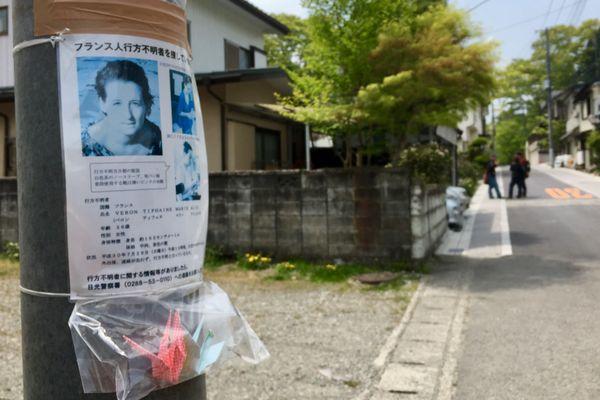 Des avis de recherche ont été placardés dans Nikko (Japon)